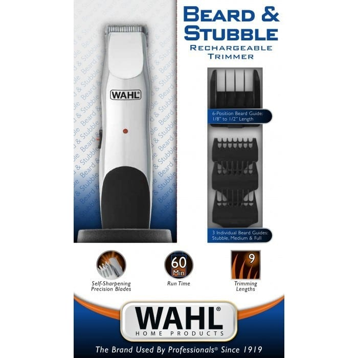 wahl beard stubble trimmer guys grooming perth. Black Bedroom Furniture Sets. Home Design Ideas
